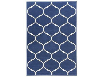 Kusový koberec LUNA 502682/54922 modrý