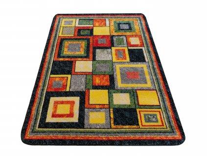 Dětský kusový koberec Mondo 09N Kostky vícebarevný