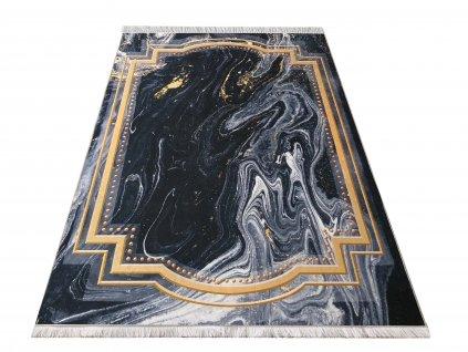 Kusový koberec klasický protiskluzový Horeca 15 černý