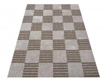 Kusový koberec sysalový oboustranný ZARA 01 coffee béžový