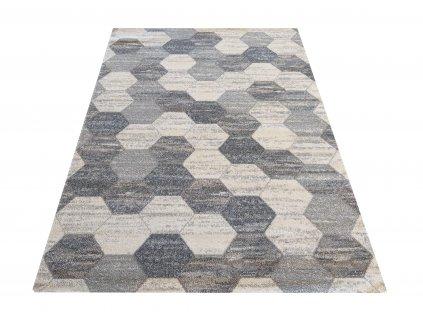 Moderní kusový koberec VISTA 02 šedý