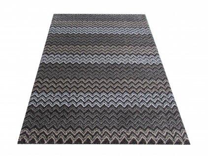 Moderní kusový koberec Sherpa 01 hnědý