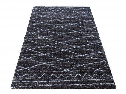 Moderní kusový koberec Sherpa 03 hnědý