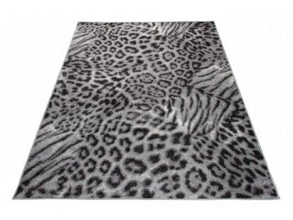 Moderní kusový koberec SCARLET DELUXE 70759/10745 Zvířecí kůže šedý