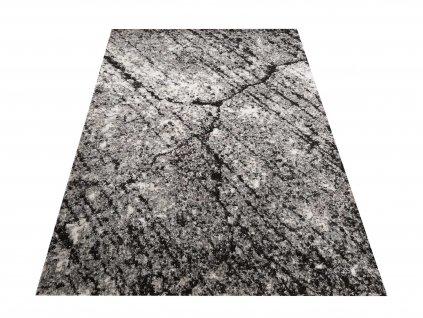 Moderní kusový koberec Panamero 04 Kůra stromu šedý