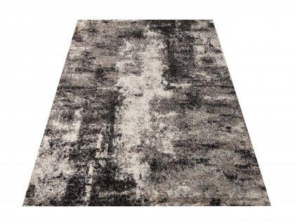 Moderní kusový koberec Panamero 05 Abstraktní šedý