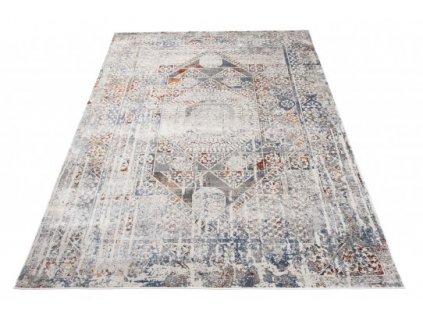 Moderní kusový koberec FEYRUZ S750B krémový