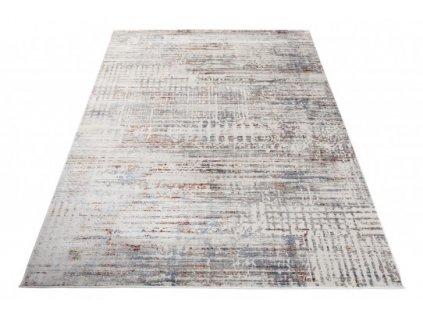 Moderní kusový koberec FEYRUZ S778C Abstraktní krémový