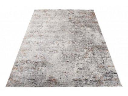Moderní kusový koberec FEYRUZ S751A Abstraktní světle béžový