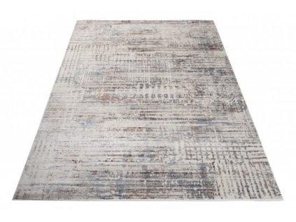 Moderní kusový koberec FEYRUZ S778B Abstraktní krémový