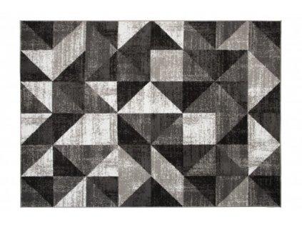 Moderní kusový koberec BALI C425B světle šedý / bílý