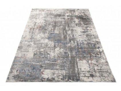 Moderní kusový koberec FEYRUZ S776B Abstraktní krémový