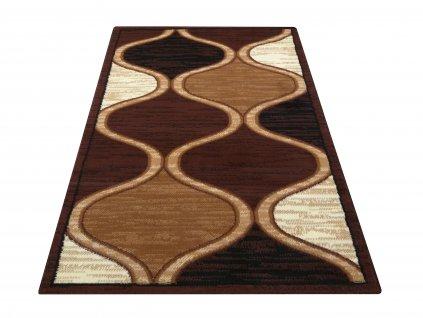Kusový koberec BCF Alfa 04N hnědý