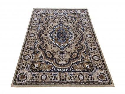 Kusový koberec klasický BCF Alfa 06 hnědý