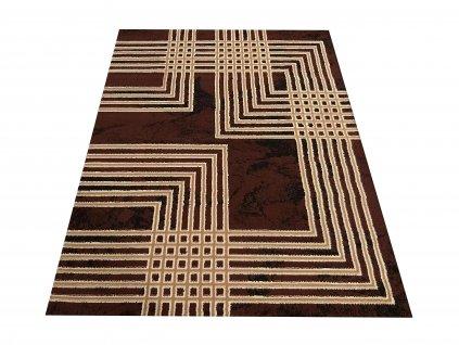 Kusový koberec BCF Alfa 07 hnědý