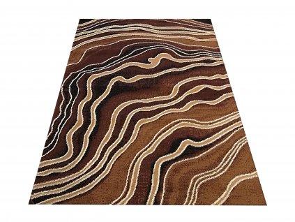 Kusový koberec BCF Alfa 08 hnědý