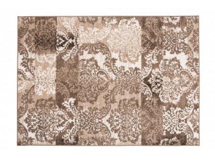 Moderní kusový koberec LAILA 15852/10842 hnědý
