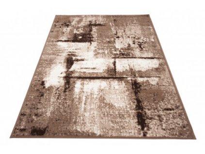 Moderní kusový koberec LAILA 15855/10842 hnědý