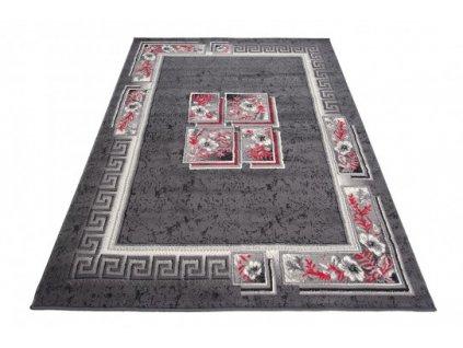 Kusový koberec 4489A CHEAP Tmavě šedý