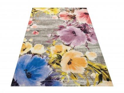 Moderní kusový koberec Casablanca 04 Vlčí máky vícebarevný
