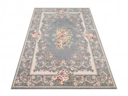Klasický kusový koberec Casablanca 06 šedý