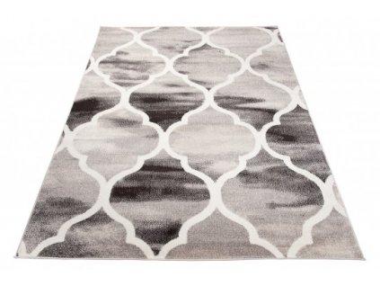 Moderní kusový koberec FIESTA 36118/36966 šedý / béžový