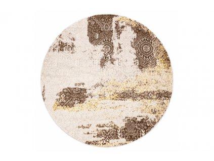 Kulatý koberec MEFE 8731 Vintage béžový2