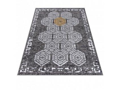 Moderní kusový koberec ATENA FH13A šedý