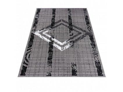 Moderní kusový koberec ATENA FM35A šedý