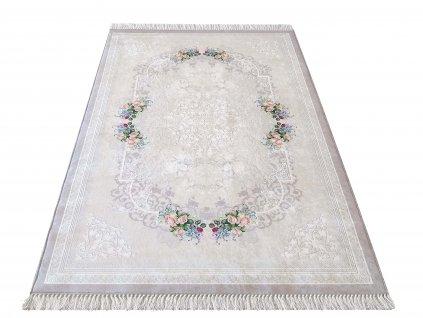 Moderní kusový koberec protiskluzový Horeca 05 - béžový