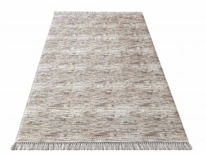 Kusový koberec protiskluzový Blanka 03 hnědý