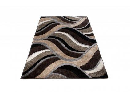 Kusový koberec SUMATRA  3481C tmavě hnědý