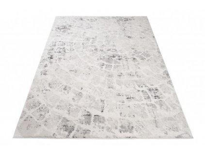 Moderní kusový koberec TROYA V471A Kmen stromu krémový / šedý
