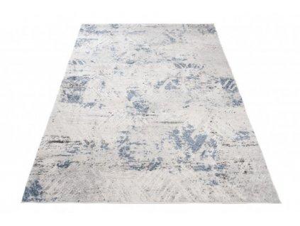 Moderní kusový koberec TROYA U825D krémový / modrý