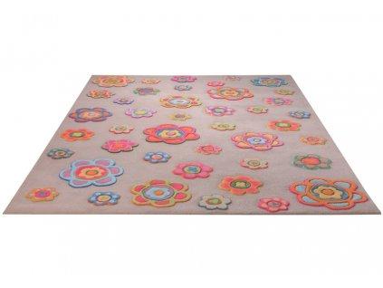 Dětský kusový kobrec ESPRIT ESP 3412 01 Květy růžový 1