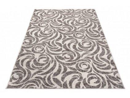 Moderní kusový koberec FIESTA 36128/36966 šedý / krémový