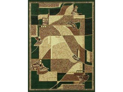 Kusový koberec GOLD 335/32 zelený