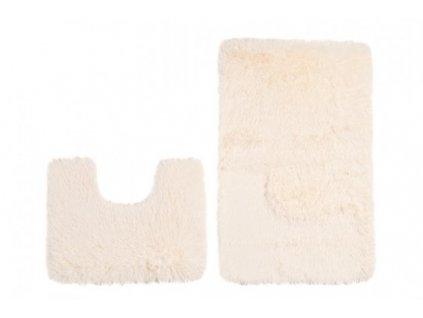 Koupelnová a WC předložka SILK MR-103 Krémová 50 x 80