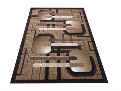 Kusový koberec BCF Alfa 16 hnědý