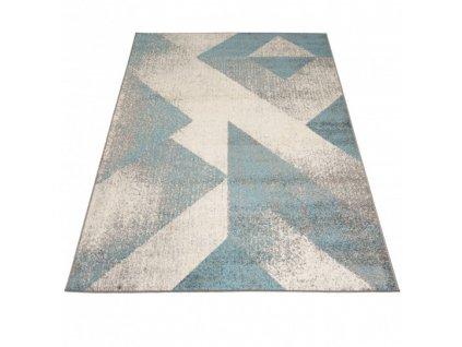 Moderní kusový koberec SPRING H173A Tyrkysový