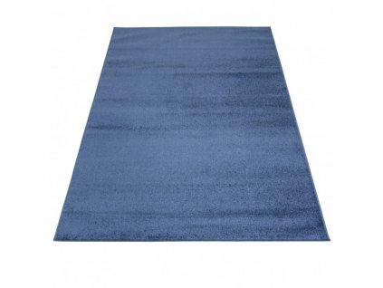 Kusový koberec jednobarevný SPRING P113A Modrý