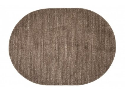 Oválný koberec SARI  T006A světle hnědý