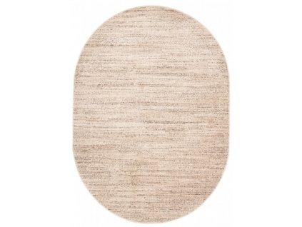 Oválný koberec SARI T006A krémový
