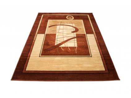 Kusový koberec DORIAN 5118A hnědý