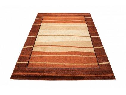 Kusový koberec DORIAN 9368A hnědý