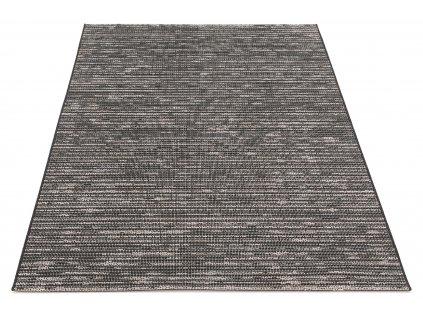 Kusový koberec Sisalový Breeze 9592 AG98 Černý šedý4