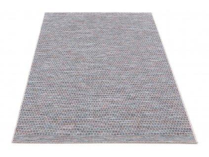 Kusový koberec Sisalový Chroma 9860 T506 Šedý vícebarevný