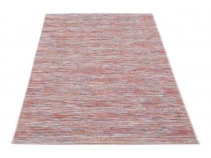 Kusový koberec Sisalový Chroma 9863 T507 Červený vícebarevný5