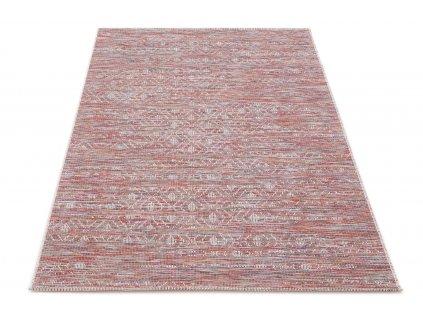 Kusový koberec Sisalový Chroma 9864 T507 Červený vícebarevný2