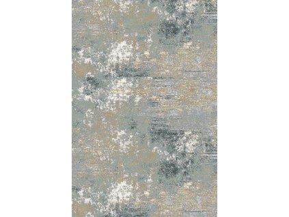 Kusový koberec vlněný Agnella Basic Chodes Šedý